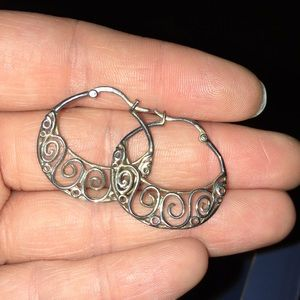 Avon Sterling Silver Earrings